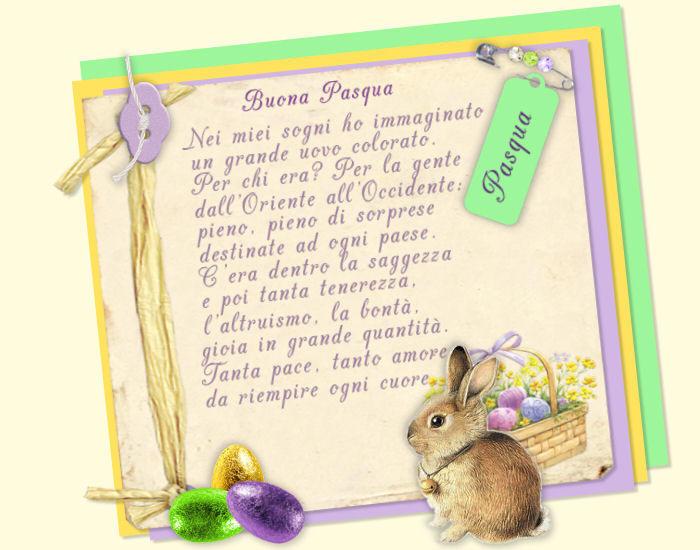 Cartoline pasqua for Cartoline auguri di buona pasqua